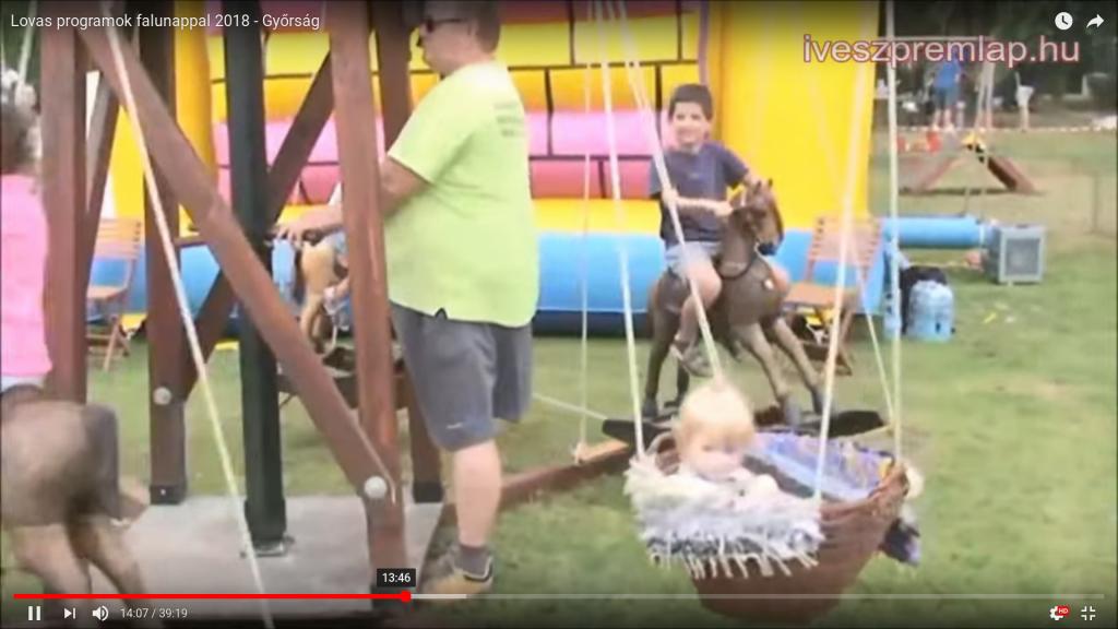 Győrsági falunap , népi játékok